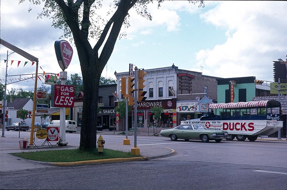 Downtown Wisconsin Dells.