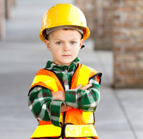 Young Construction Worker.